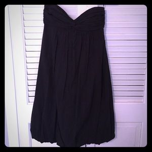 Trina Turk strapless black dress size 2