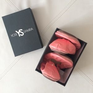 Yosi Samra Shoes - Foldable Flats in Coral (Never Been Worn!!)