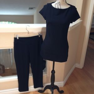 Perfectly Packable-Cute Capri Pants and Tunic Set