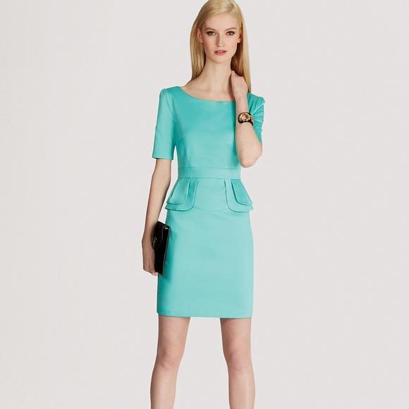 Karen millen dresses amp skirts karen millen mint green peplum dress