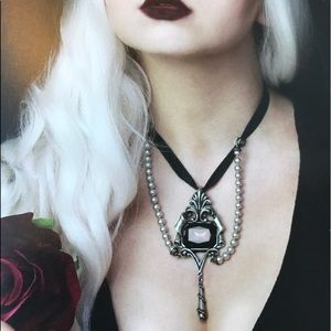 Alchemy Jewelry - Jewel of the Night Drop Choker