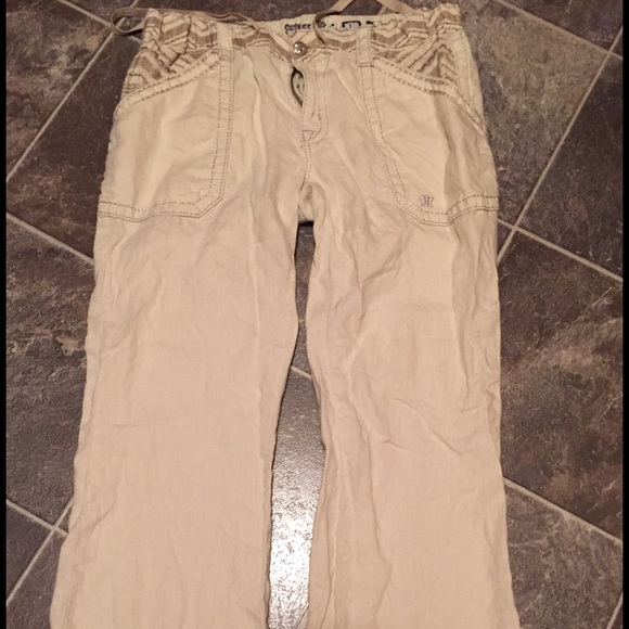 retro new authentic hot-selling fashion TODAY ONLY! Miss Me linen pants. NWOT