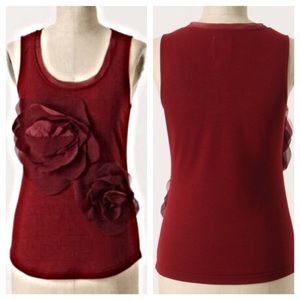 Anthropologie Tops - Anthro McGinn count the petals tank