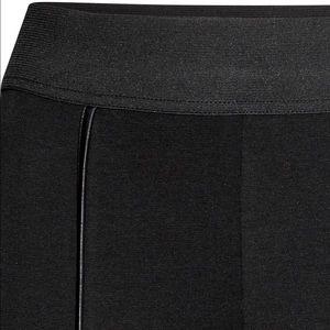 da0e6938f09e1 H&M Pants   Hm Jersey Leggings Black Slit   Poshmark