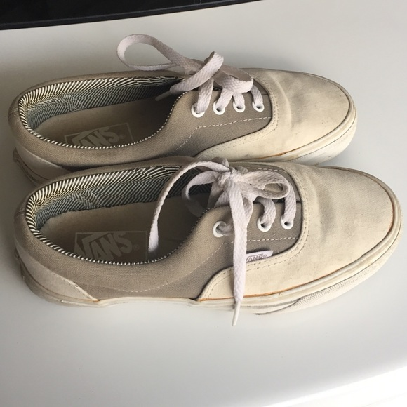 Authentic Cream Vans. M 5605f526ea3f365f4c0014a8 973a87e7b1