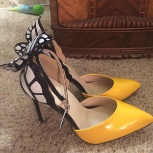 Sophia Webster Shoes   Brand New Yellow