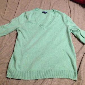 Light green Xl old navy sweater