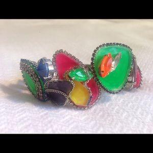 Erickson Beamon Jewelry - NWOT Erickson Beamon Color Me Crazy Bracelet