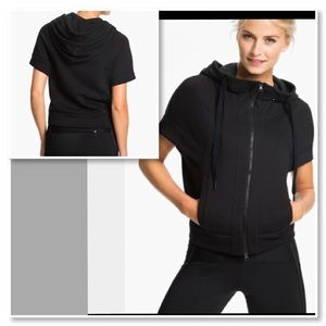 Adidas by Stella McCartney Jackets & Coats - Adidas by Stella McCartney Short Sleeve Studio Top
