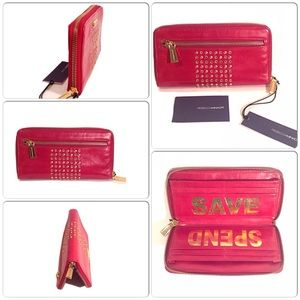 NEW REBECCA MINKOFF SAVE SPEND WALLET