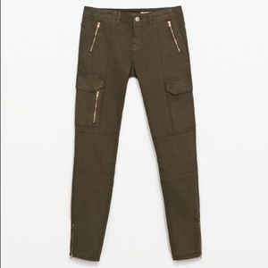 Zara Pants - Zara Cargo Pants with Zips