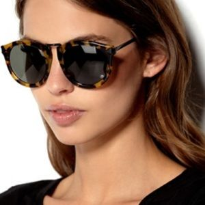 "Karen Walker ""Harvest"" sunglasses in tortoise"