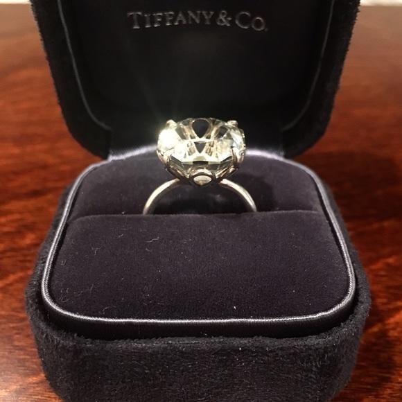 da02040fb ... tiffany co. jewelry tiffany sparklers green quartz cocktail ring ...