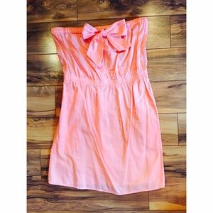J.Crew Pink Strapless Dress