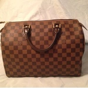 358bb42ece3 ... Louis Vuitton Speedy 30 Damier Ebene ...