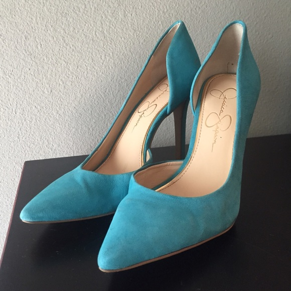 Jessica simpson shoes tiffany blue heels poshmark jessica simpson tiffany blue heels junglespirit Image collections