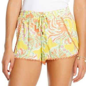 Lilly Pulitzer for Target Pants - Lilly Pulitzer for Target Challis PomPom Shorts