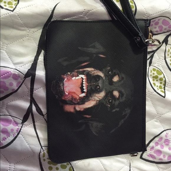 2c1f5aae49 Givenchy Handbags - Givenchy Dog Face Clutch