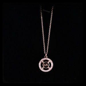 "Michael Kors Rose Gold 18"" Chain"