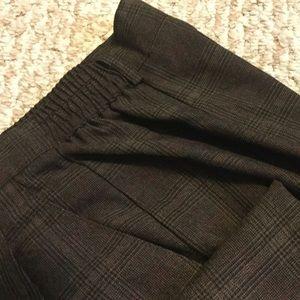 Dress Barn Plaid dress trousers