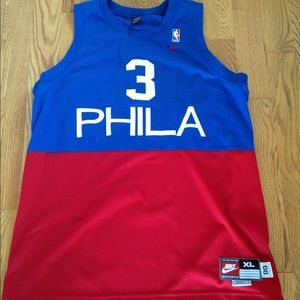 58c94e8e814 Authentic Nike Allen Iverson Throwback Jersey (XL) for sale