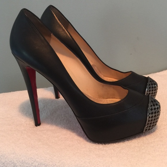 8cf30d97319b Christian Louboutin Shoes - Authentic Christian Louboutin Maggie steel toe