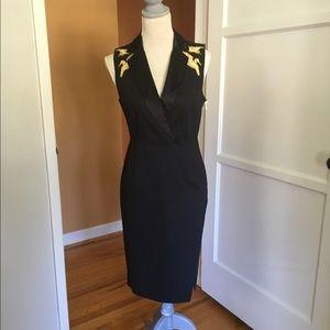 NWT Altuzarra for Target Tuxedo Crane Dress Size 6