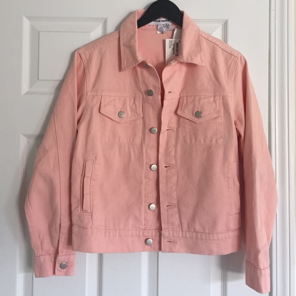 Pink Denim Jacket Jacketin