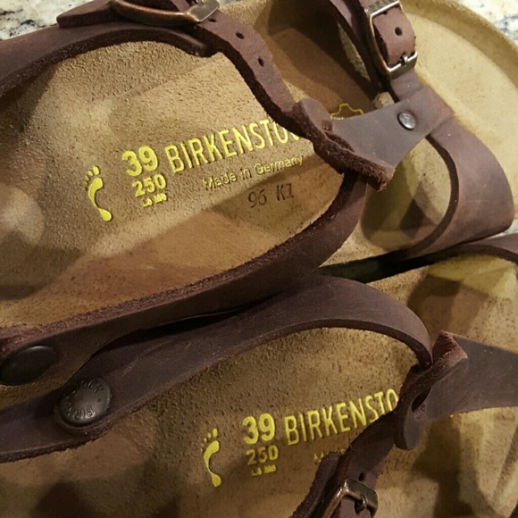 Birkenstock Orlando Leather Gray Outlet Orlando