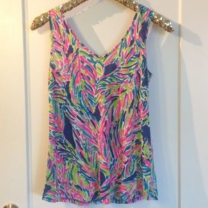 Lilly Pulitzer Tops - Lilly Pulitzer cotton tank