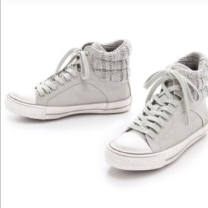 Splendid Gray high tops