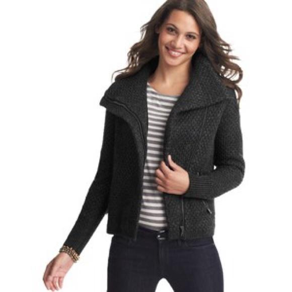 Ann Taylor Loft Sweater Jacket 100