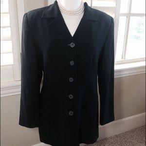 Jones New York Jackets & Blazers - Price Drop!❤️Jones New York Long Black Suit Jacket