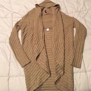 Beige shawl sweater size S