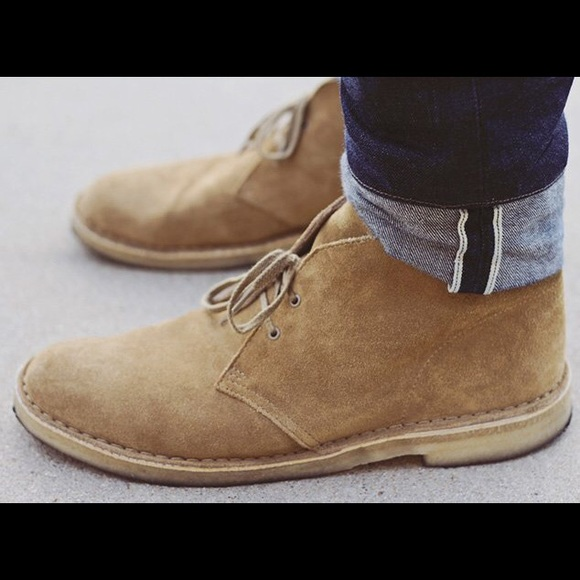 Desert Boot. Khaki Suede Womens Boots Clarks® Shoes