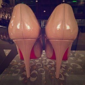 Christian Louboutin- Rolando 120 Patent Calf Heels