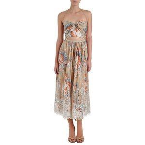 Looking:Zimmermann Anais Antique Tie Dress in sz 0