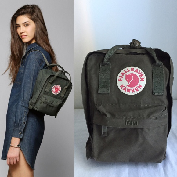 5951ca431d Fjallraven Handbags - Fjallraven Kanken Mini Backpack - Green