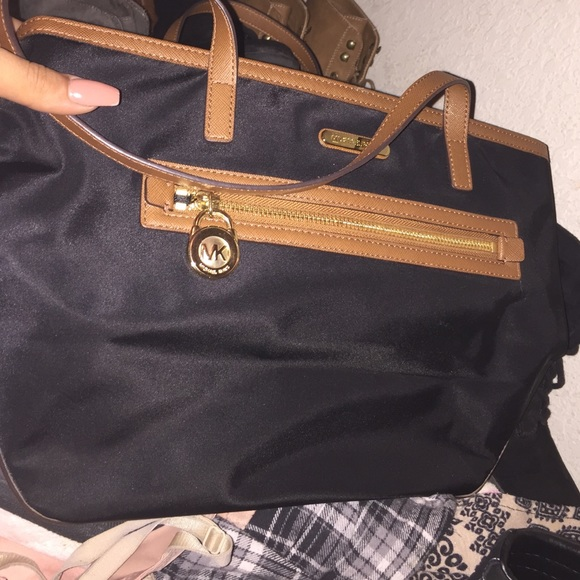 brand new! Never used mk brown and black purse ec07069a4b725