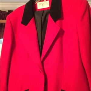 Beautiful Red and black jacket