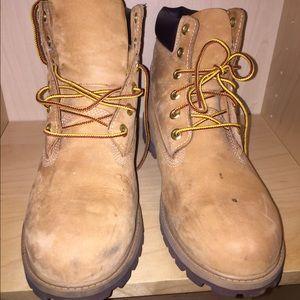 Menns Timberland Støvler Størrelse 10,5 Brukt