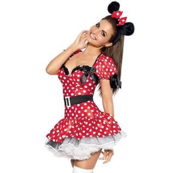final price flirty minnie mouse halloween costume