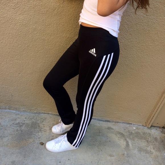 55% off Adidas Pants - Adidas yoga pants from Ninau0026#39;s closet on Poshmark