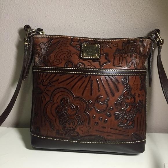 1161b52541 Dooney   Bourke Handbags - Dooney   Bourke Disney brown leather sketch