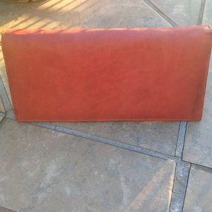 Clutches & Wallets - Genuine Leather Zip Around Wallet (British Tan)