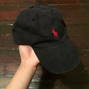 Polo by Ralph Lauren Accessories - [reserved] Polo • Black Cap