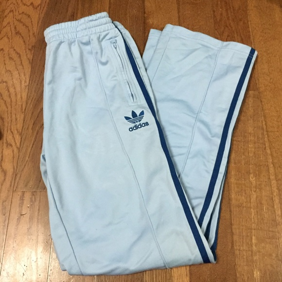 Adidas Adidas Baby Blue Sweat Track Pants Joggers From