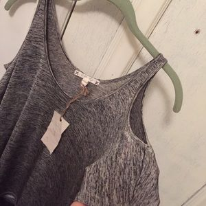 Joie Tops - Soft Joie • grey peak shoulder top