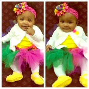 Dresses & Skirts - Infant multi colored tutu.