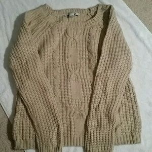 Crocheted sweater forever 21